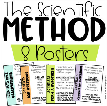 Scientific Method - Posters