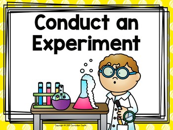 Scientific Method: Posters, Experiments and Journals!