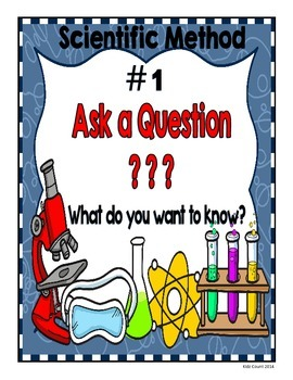 Scientific Method Posters FREEBIE!