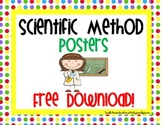 Scientific Method Posters- Free