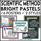 Scientific Method Posters In Bright Pastel Colors