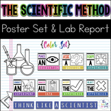Scientific Method Posters & Lab Report {Color}