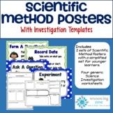Scientific Method Posters Plus Recording Sheets