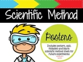 Scientific Method: Posters, Quiz, Foldables & Investigation Sheet