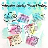 Scientific Method Posters (Watercolor)
