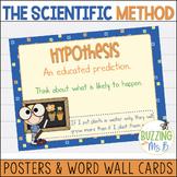 Scientific Method Posters & Word Wall Words