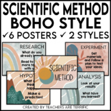 Scientific Method Posters featuring Boho-Style