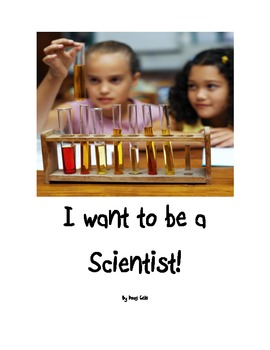 """Science Classroom Posters """"I want to be a Scientist"""""""