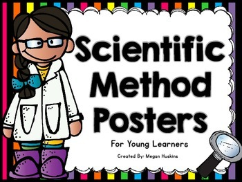 Scientific Method Posters for Young Learners