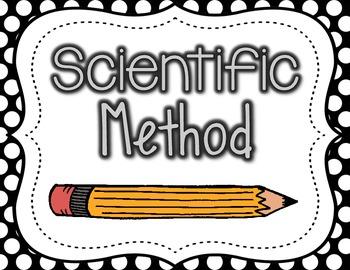 Scientific Method Posters {polka dots}