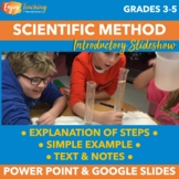 Introduction to the Scientific Method PowerPoint with Demonstration Experiment