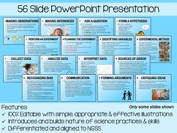 Scientific Method PowerPoint, Notes & Exam
