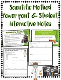 Scientific Method PowerPoint and Student Interactive Notes