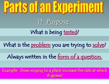 Scientific Method PowerPoint, Note Sheet, Inquiry Activity, & Practice