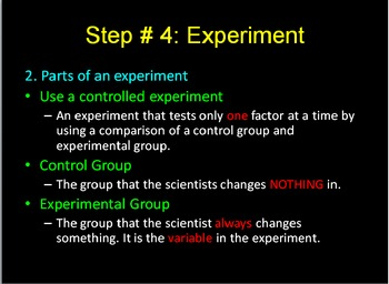 Scientific Method PowerPoint and Guided Notes