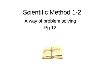 Scientific Method Powerpoint with Animated gif files