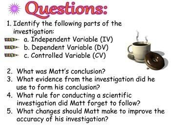 Scientific Method Practice Mini-Lesson PDF