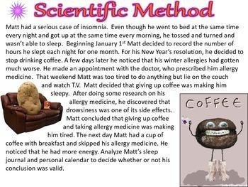 Scientific Method Practice Mini-Lesson PDF