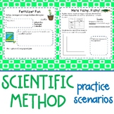 5th - 6th Grade Scientific Method Practice Scenarios