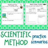 5th - 6th Grade Scientific Method Practice Scenarios