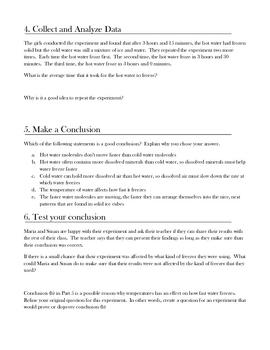 Scientific Method Practice Worksheet by Mr. Affro   TpT