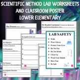 Scientific Method Worksheet - Lower Elementary