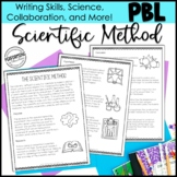 Scientific Method Project-Based Learning 4th 5th 6th Scaffolded Science Project