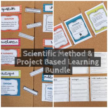 Scientific Method & Project Based Learning Bundle