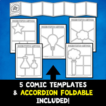Scientific Method Project - Comic Strip