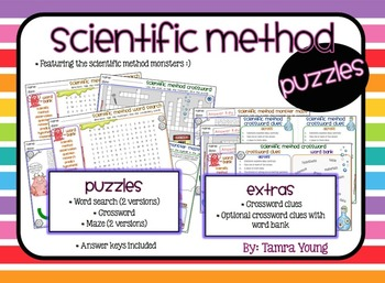 Scientific Method {Puzzles}