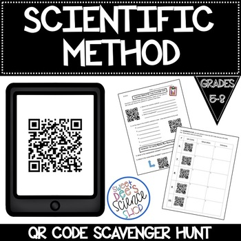 Scientific Method QR Code Scavenger Hunt
