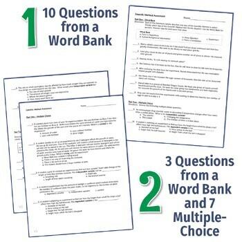 FREE Scientific Method Quiz (middle school) NGSS