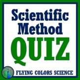 Scientific Method Quiz for Middle School - 2 Versions NGSS
