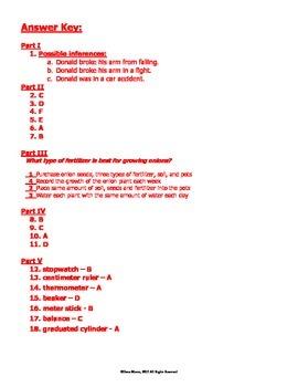 Scientific Method Quiz - Part II