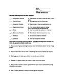 Scientific Method Quiz and Key
