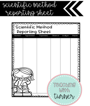 Scientific Method Reporting Sheet