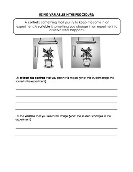 Scientific Method Review Packet