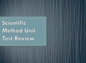 Scientific Method Review PowerPoint