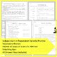 Scientific Method Review Sheets and Quiz
