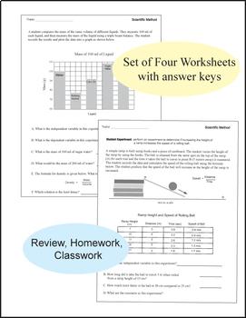 Scientific Method Worksheets Review