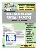 Scientific Method Review and Practice
