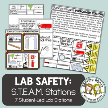 Scientific Method - Science Centers / Lab Stations - Lab T