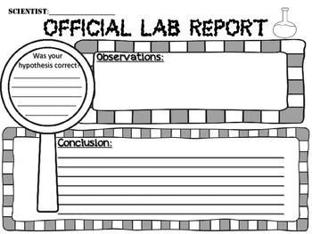 Scientific Method Scramble