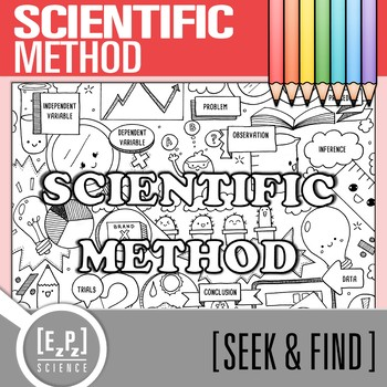 Scientific Method Seek and Find Science Doodle Page