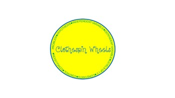 Scientific Method Self Checking Clothespin Wheels - Follow Up Set