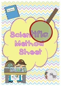 Scientific Method Sheet / Ficha del Método Científico English and Spanish