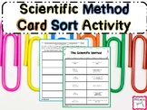 Scientific Method Sorting Activity