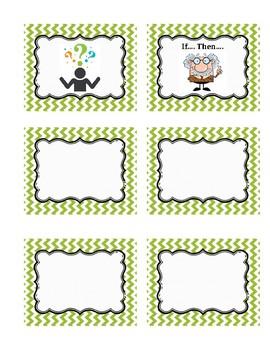 Scientific Method Sorting Activity Cards