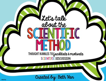 Scientific Method Speech Bubbles {Getting Students Talking About Science}