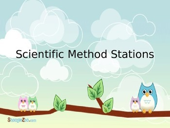 Scientific Method Stations/Centers - Steps of the Scientific Method